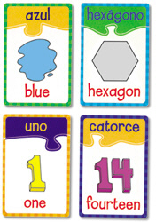 Numbers/Colors/Shapes Spanish/English