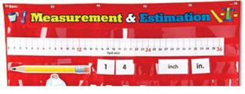 ESTIMATION & MEASUREMENT POCKET CHART
