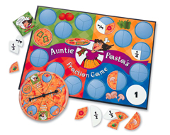 Auntie Pastas Fraction Game