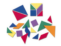 Hands-On: Soft Tangrams (Set of 30)