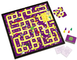 Reading Riddle Maze Game