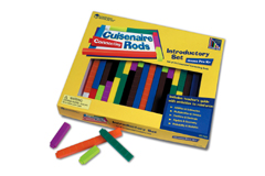 CONNECTING CUISENAIRE RODS - INTRODUCTION SET