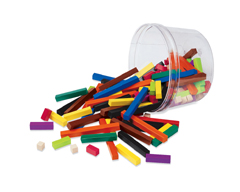 CUISENAIRE RODS - SMALL GROUP - PLASTIC