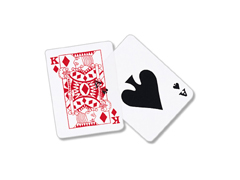 OVERHEAD PLAYING CARDS