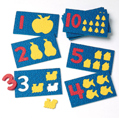 Foam Puzzles - Number Play (10/Pk)