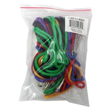 Lanyards - Assorted Colors ( Pack of 12 )