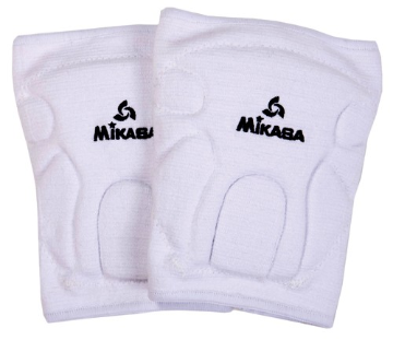 Mikasa Championship Knee Pads (Youth) - White