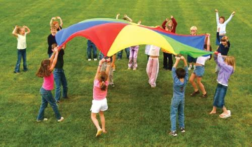 Durable Parachute - 12' (12 Handles)