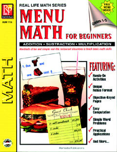 MENU MATH FOR BEGINNERS, 6 EXTRA PRICE LISTS