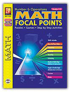 MATH FOCAL POINTS - NUMBER & OPERATIONS