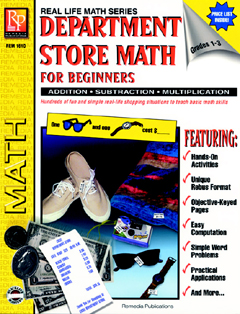 DEPARTMENT STORE MATH FOR BEGINNERS