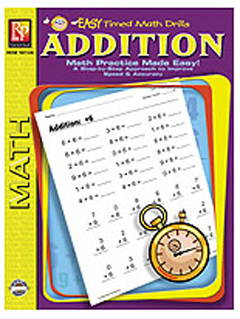 EASY TIMED MATH DRILLS - ADDITION