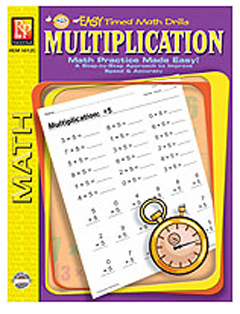 EASY TIMED MATH DRILLS - MULTIPLICATION