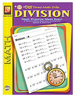 EASY TIMED MATH DRILLS - DIVISION