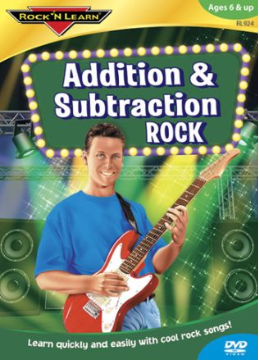 ADDITION & SUBTRACTION ROCK AUDIO CD + BOOK