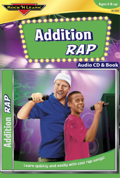 ADDITION RAP AUDIO CD + BOOK