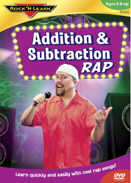 ADDITION AND SUBTRACTION RAP DVD
