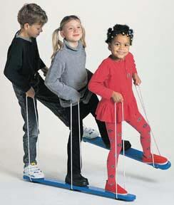 3-Person Summer Skis