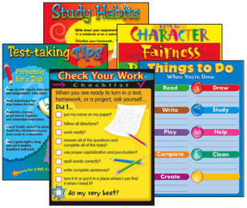 Learning Charts Combo Packs - Student Success