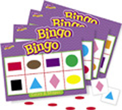Bingo - Colors & Shapes Bingo
