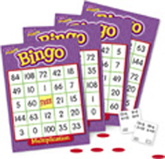 Bingo - Multiplication Bingo