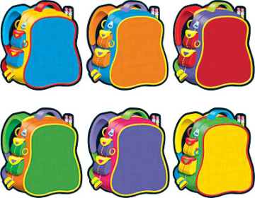 Classic Accents Bright Backpacks