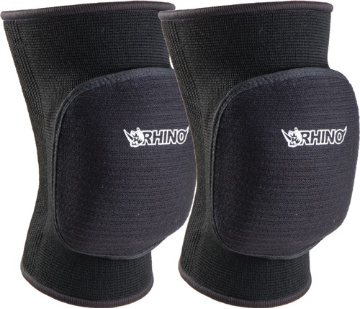 Volleyball Bubble Knee Pads - Black