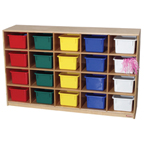 Wood Designs™ Cubby Storage Cabinets