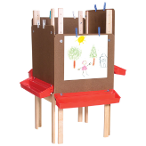 Wood Designs™ Art Workspace for 4 Students