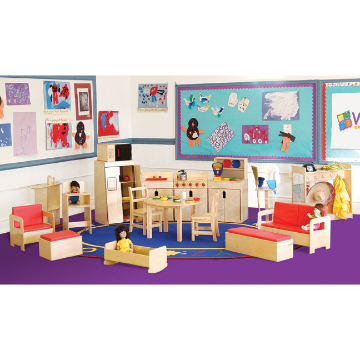 Wood Designs Dramatic Play Classroom Package