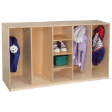 "Wood Designs™ Tip-Me-Not™ 30"" High Tot Lockers"