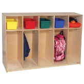 "Wood Designs™ Tip-Me-Not™ 36"" High Tot Lockers"