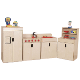 Wood Designs™ Tip-Me-Not™ Deluxe Kitchen Appliances