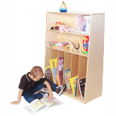Wood Designs™ Tip-Me-Not™ Multi-Purpose Bookcase