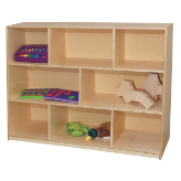 Wood Designs™ Tip-Me-Not™ Single Storage Units