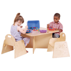 Wood Designs™ Tot-Size Tables & Chairs