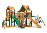 Gorilla Playset Pioneer Peak with Wood Roof