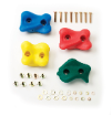 Climbing Rock Holds - 4 Pack Color