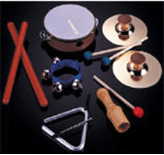 6-Piece Rhythm Instrument Set