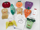 Nutrition Puppets Deluxe (Set of 10)