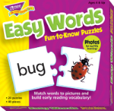 Fun-to-Know Puzzles - Easy Words