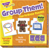 Fun-to-Know Puzzles - Group Them!