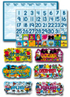 Calendars Bulletin Board Set