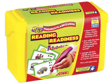 Hot Dots Phonics Program Set 1: Reading Readiness