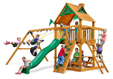 Gorilla Playset Chateau with Wood Roof