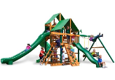 Gorilla Playset Great Skye II with Vinyl Canopy - Green