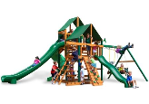 Gorilla Playset Great Skye II with Sunbrella Canopy - Green