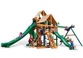 Gorilla Playset Great Skye II with Sunbrella Canopy - Weston Ginger