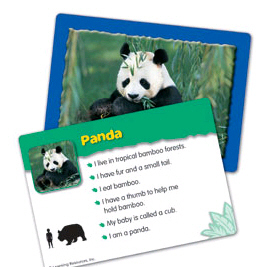 ANIMALS IN THE WILD CLASSIFYING CARD