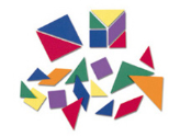 Soft Tangrams Pattern Blocks